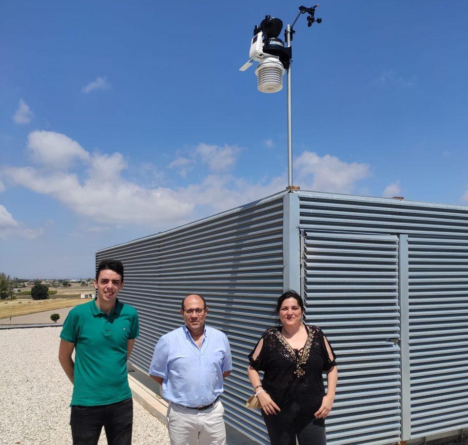 MeteOrihuela instala dos observatorios en San Fulgencio 6