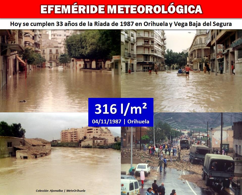 Se cumplen 33 años de la riada del 87 en Orihuela 6