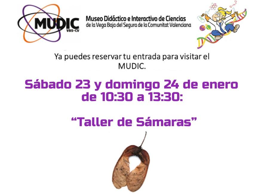 """El MUDIC organiza el """"Taller de Sámaras"""" 6"""