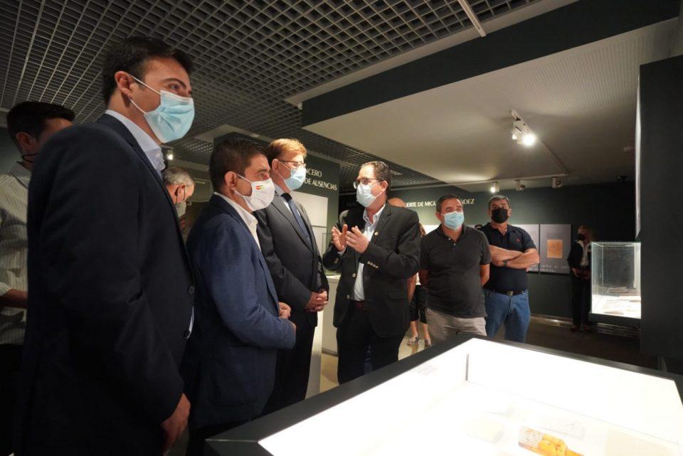 Puig renueva el espíritu de cooperación con Jaén en la visita al legado de Miguel Hernández 6
