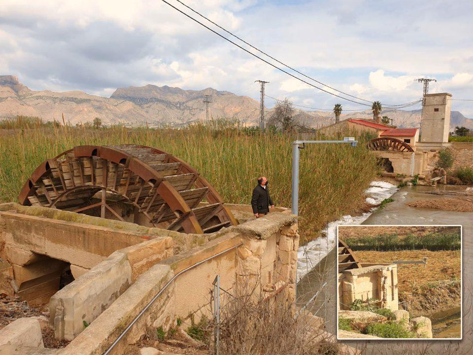 Las obras de restauración de las Norias Gemelas darán comienzo antes del verano 6