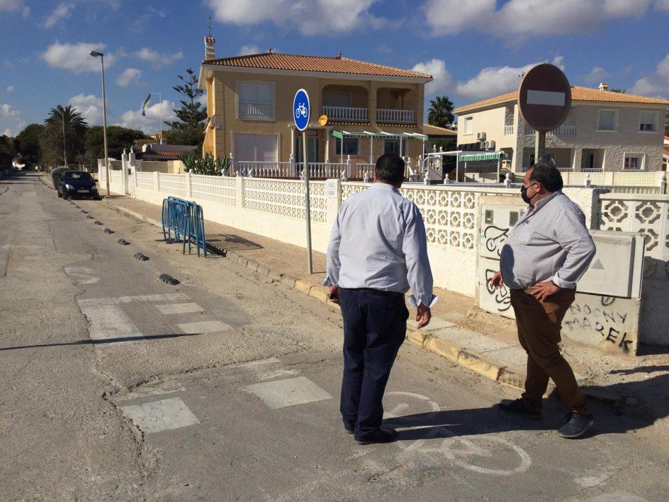 Infraestructuras renovará una antigua red de agua potable en La Zenia 6