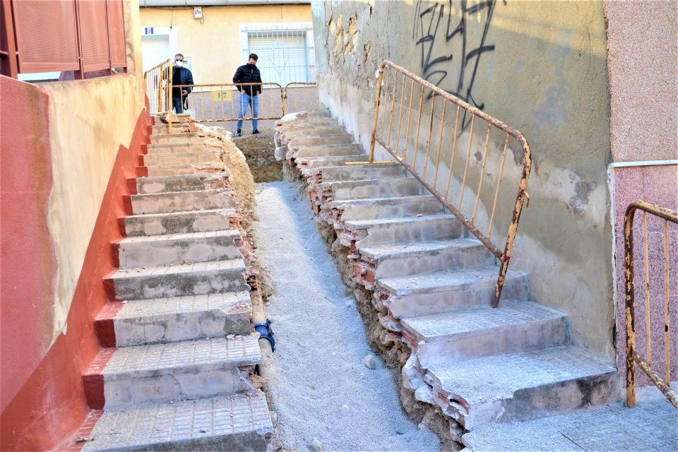 El Ayuntamiento de Rojales ejecuta obras de mejora en el casco antiguo 6