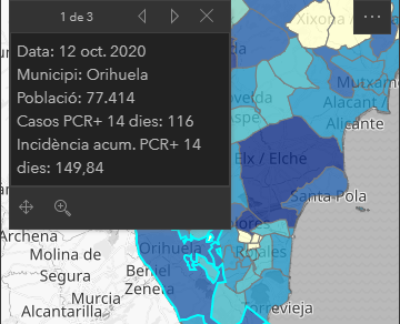 La incidencia de coronavirus en Orihuela es de 149'84 en los últimos 14 días 6
