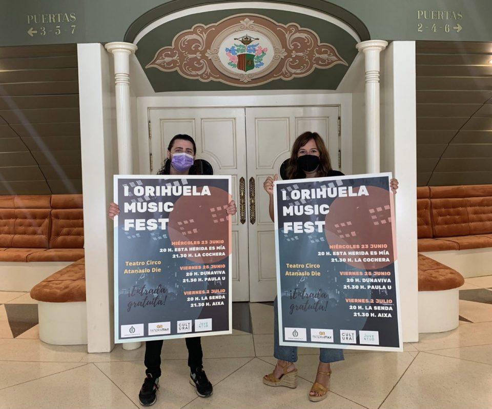El Teatro Circo acogerá el I Orihuela Music Fest con jóvenes artistas locales 6