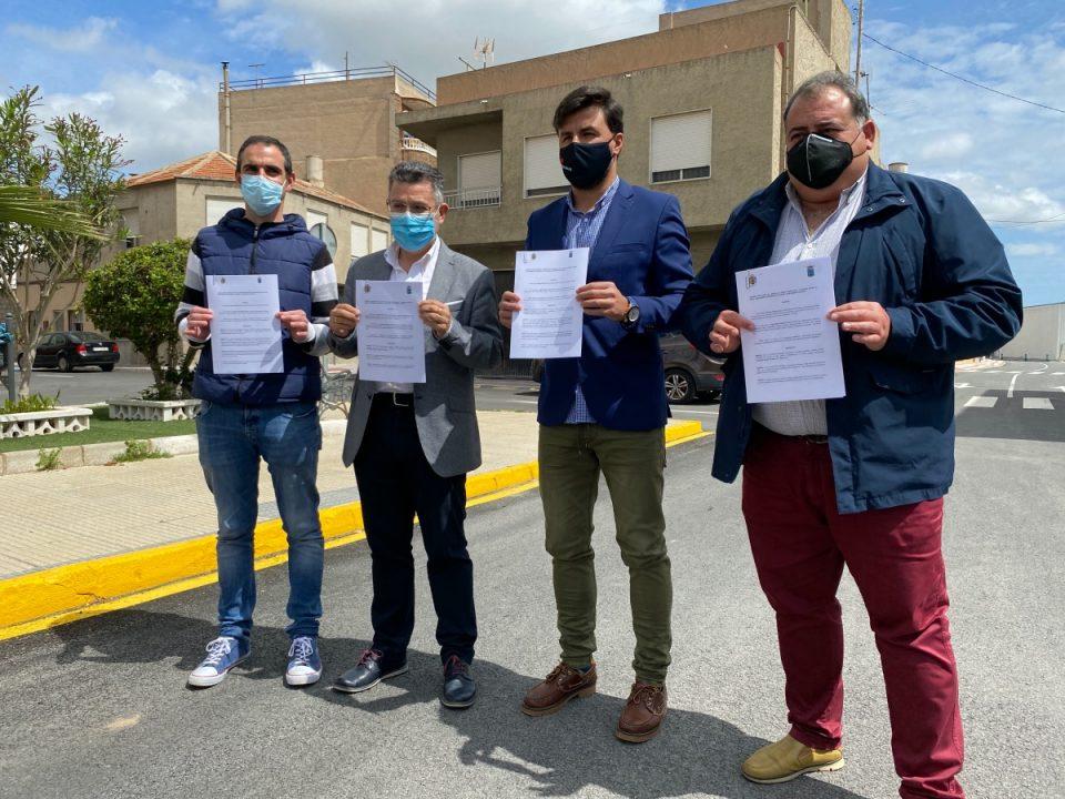 Orihuela y Rafal firman un convenio para el vertido de aguas residuales y pluviales 6