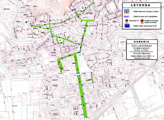 Orihuela peatonaliza parte de su casco histórico y del centro urbano 6