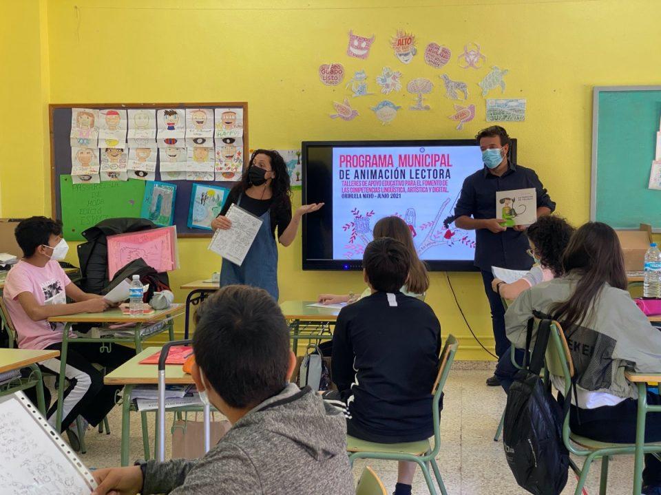 Talleres de apoyo educativo para el fomento de lingüística, artística y digital en Orihuela 6
