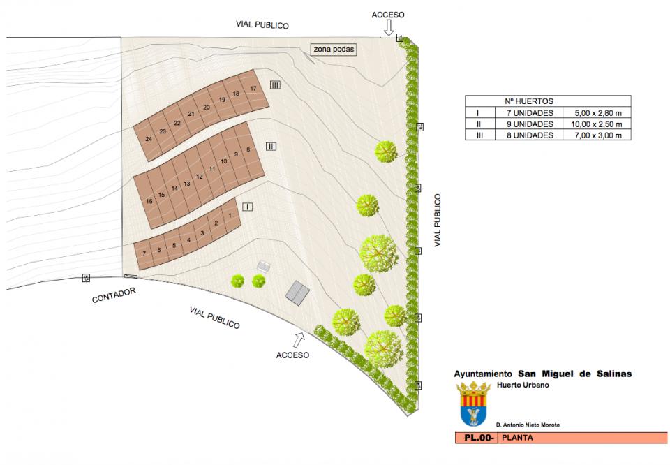 San Miguel de Salinas pone en marcha su primer huerto urbano 6