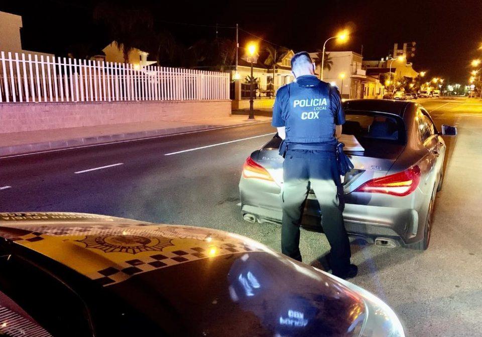 La Policía Local Cox - Granja recupera un vehículo sustraído en Valencia 6