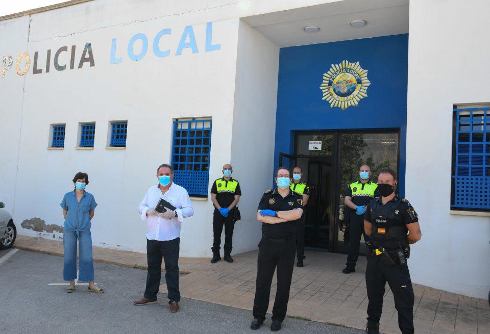 Cuatro nuevos agentes se incorporan a la plantilla de la Policía Local de Orihuela 6