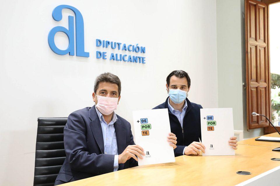 La Diputación invierte 10 millones de euros en la mejora de instalaciones deportivas de los municipios con el Plan +Deporte 6