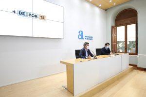 La Diputación invierte 10 millones de euros en la mejora de instalaciones deportivas de los municipios con el Plan +Deporte 7