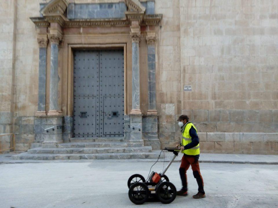 Patrimonio Histórico realiza una prospección geofísica para localizar La Muralla de Orihuela 6