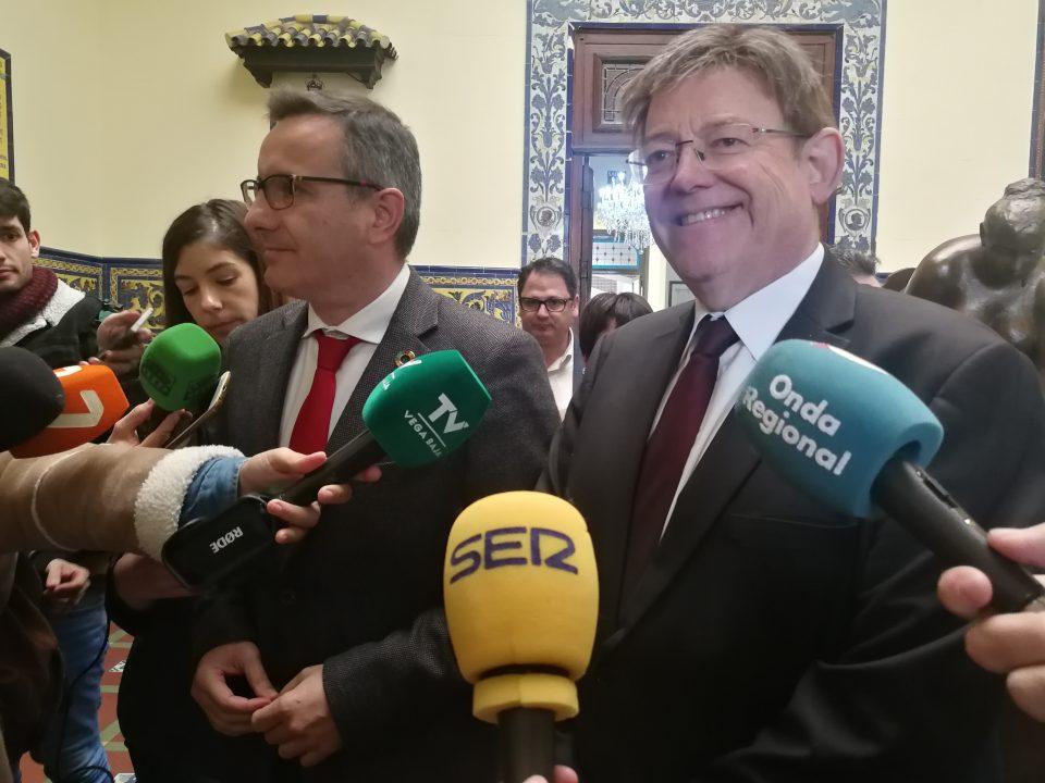 Ximo Puig pretende sumar recursos para garantizar agua para siempre 6
