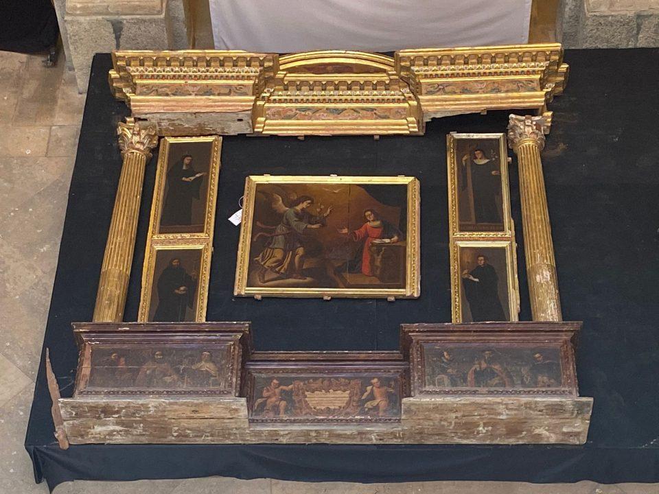 Descubrimiento en Orihuela de un retablo inédito del siglo XVI 6