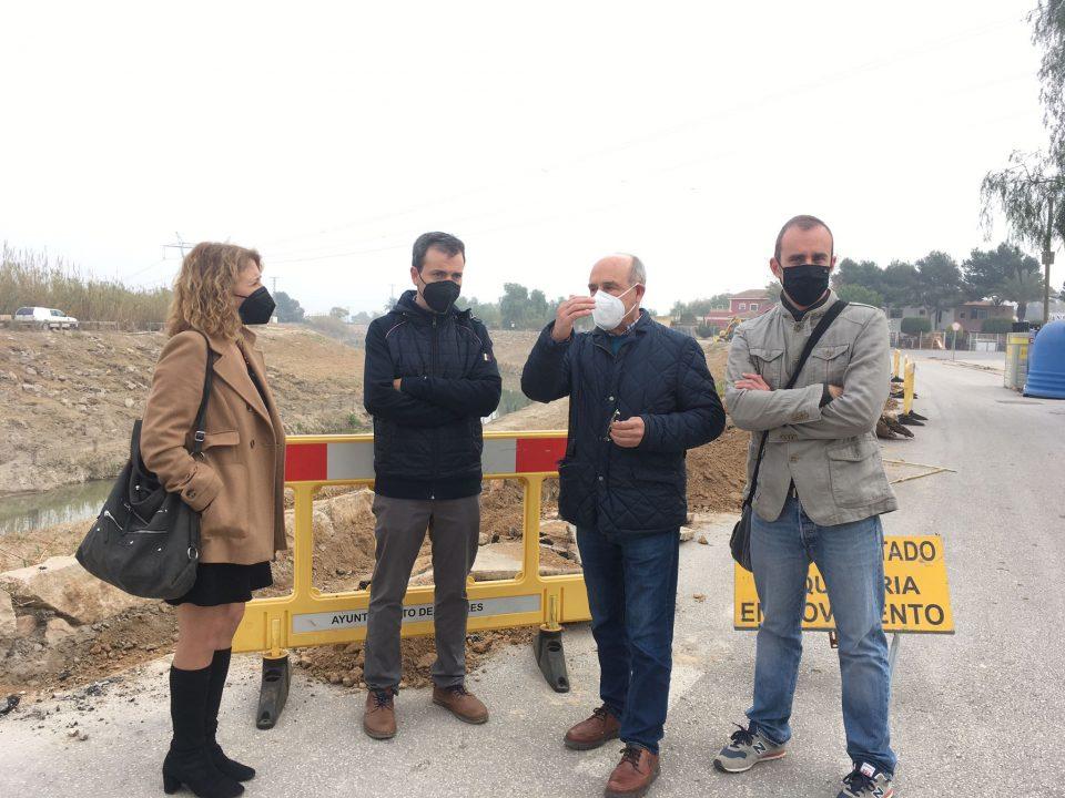 La CHS ejecutará un proyecto en el río Segura aguas abajo de Rojales para eliminar el cañaveral 6