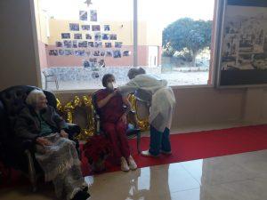 Ana Mira de 102 años, primera vacunada contra la COVID19 en la Vega Baja 7