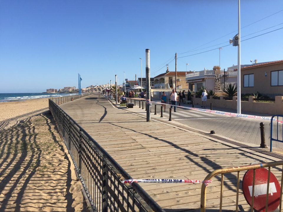 El lunes comienzan las obras de la senda peatonal de La Mata 6