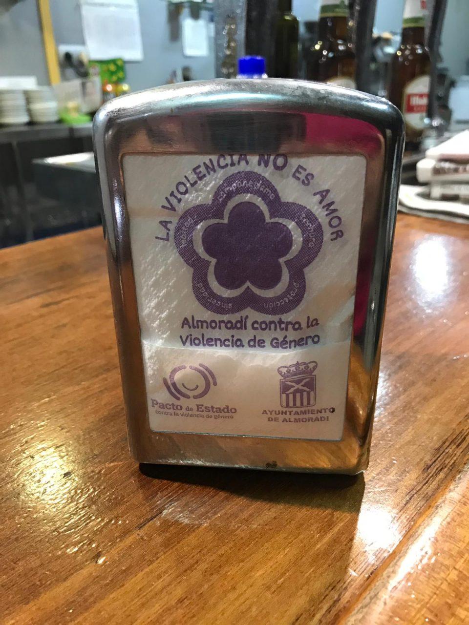 Almoradí lanza una campaña contra la violencia de género en los bares y restaurantes 6