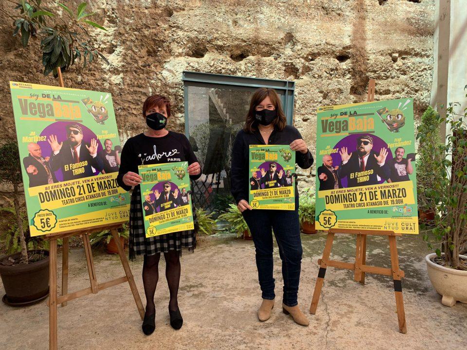 """El Teatro Circo de Orihuela acoge el espectáculo de humor """"Soy de la Vega Baja"""" 6"""