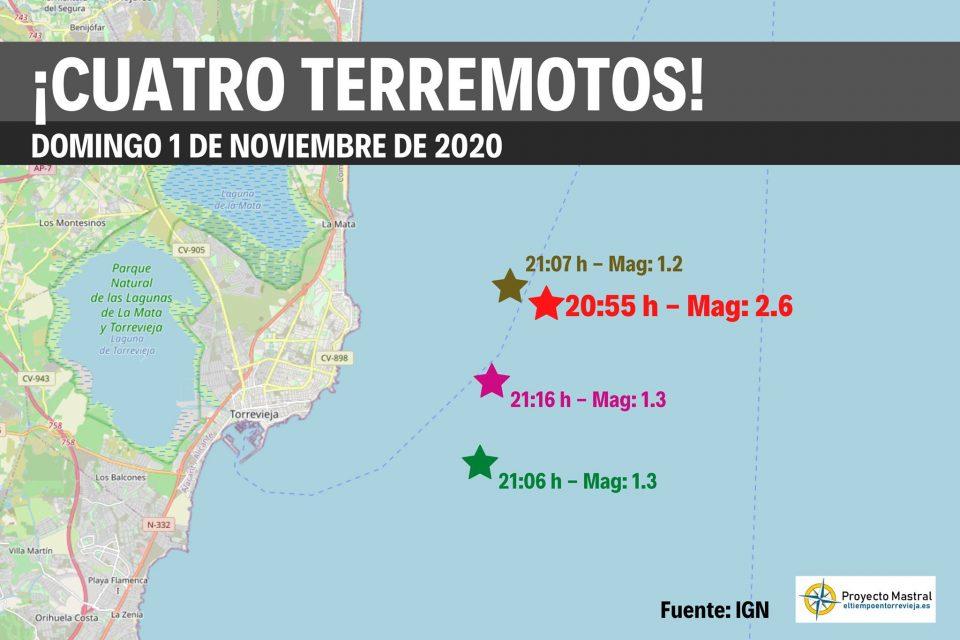 Dos terremotos en pocas horas hacen temblar la costa de la comarca 6