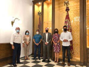 Trasladan la Gloriosa Enseña de 'El Oriol' mientras duren las obras del ayuntamiento 7