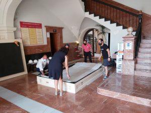 Trasladan la Gloriosa Enseña de 'El Oriol' mientras duren las obras del ayuntamiento 8