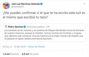 El Ayuntamiento de Madrid pretende callar a Miguel Hernández 7