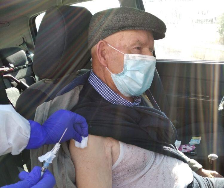 Camino de la inmunidad para los mayores de 90 años en el Dpto. de salud de Orihuela 6