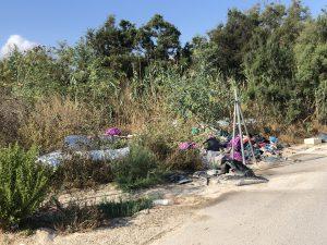 El PSOE de Orihuela denuncia la existencia de un vertedero ilegal en Hurchillo 7