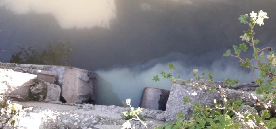 La CHS identifica a una empresa vertiendo aguas contaminadas al río 6