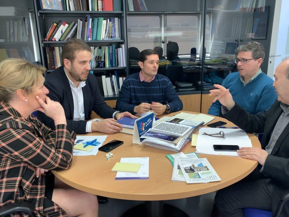 La Diputación y el IUACA colaborarán juntos en materia de agua 6
