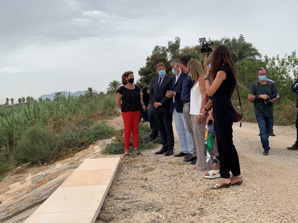 Puig resalta el trabajo de recuperación de la comarca en el segundo aniversario de la DANA 6