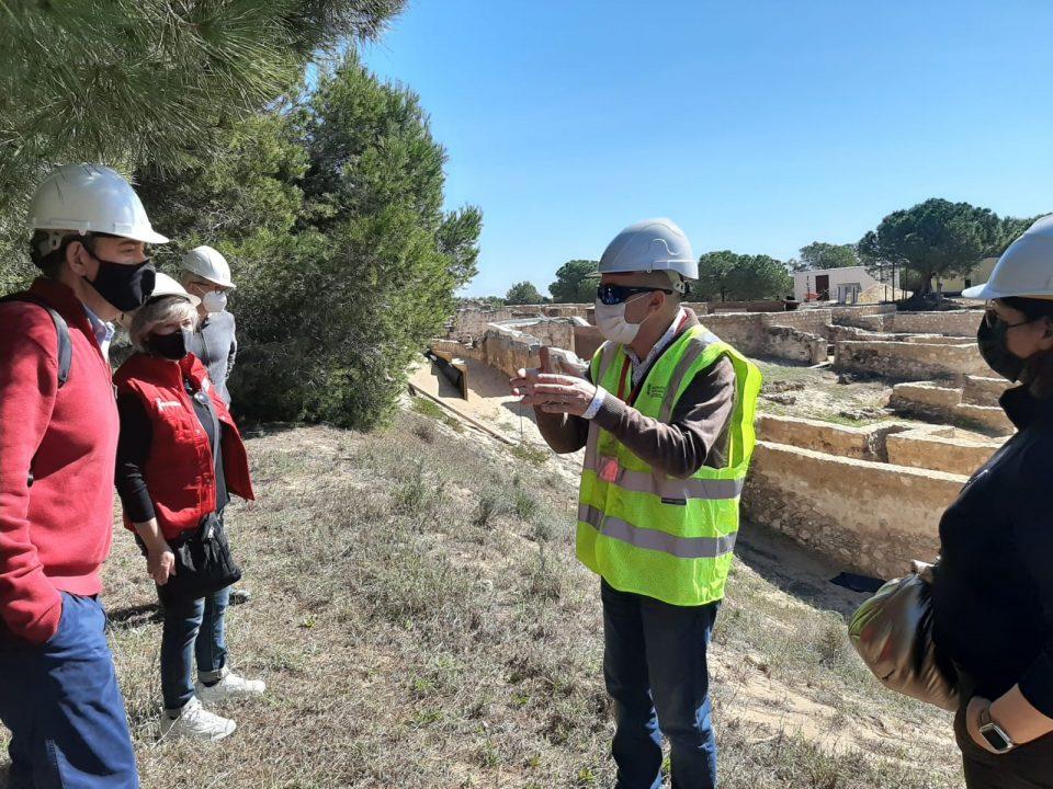 Las obras en los yacimientos de Guardamar finalizarán antes del verano 6