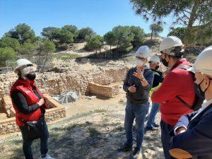 Las obras en los yacimientos de Guardamar finalizarán antes del verano 7