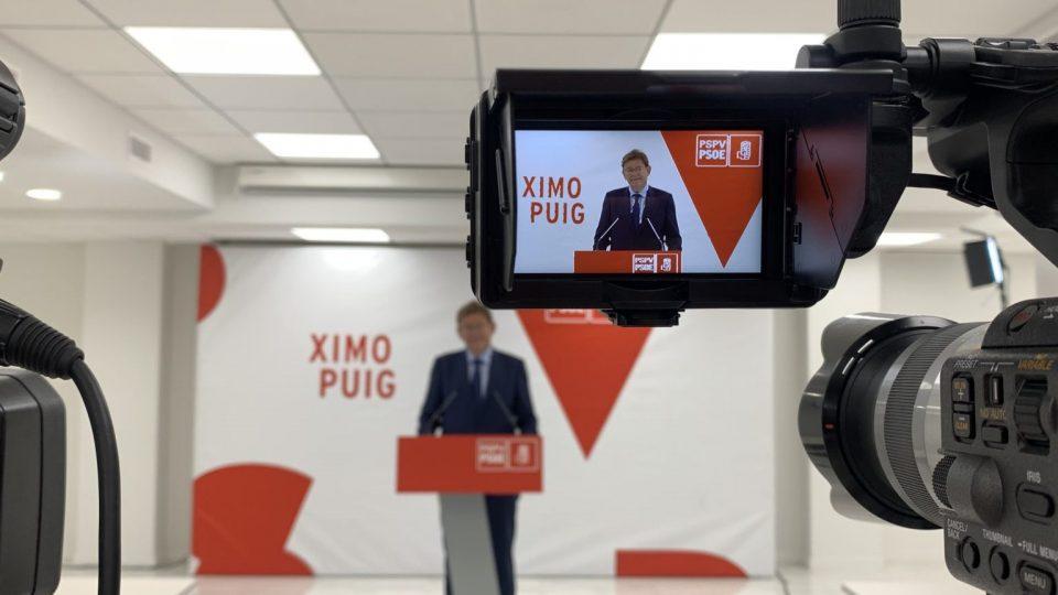 Ximo Puig, único candidato a la Secretaría General del PSPV-PSOE 6
