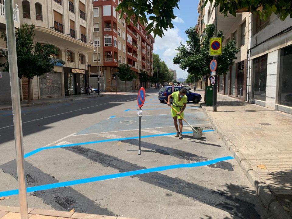 El PSOE de Orihuela desvela un intento fallido de Infraestructuras de ampliar la zona azul 6